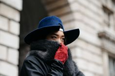 Tagged: Peggy Gould, Hat, Gloves, Fur, It-girl