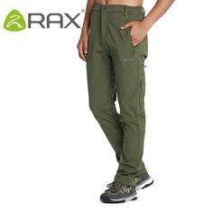 RD RAX- Men's Softshell POLAR SHIELD Hiking Pants