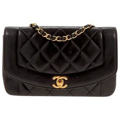 Chanel Diana leather crossbody bag