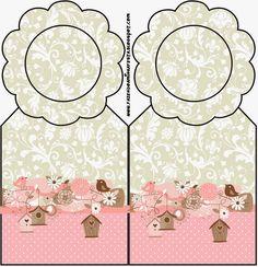 Pájaros y Jaulas: Imprimibles Gratis para Fiestas. Party Printables, Free Printables, Cardboard Box Crafts, Baby Journal, 50th Party, Printable Tags, Free Prints, Paper Dolls, Scrapbook Paper