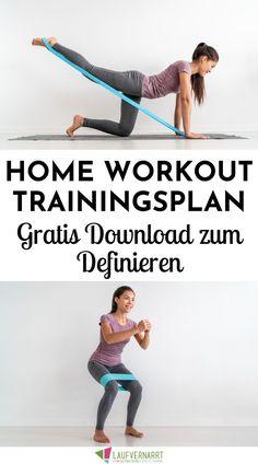 #STAYATHOME Trainingsplan - dein kostenloser Home Workout Plan - Laufvernarrt