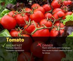 Tomato Breakfast, Breakfast For Dinner, Oxalic Acid, Running Food, Storing Fruit, Best Time To Eat, Leftovers Recipes