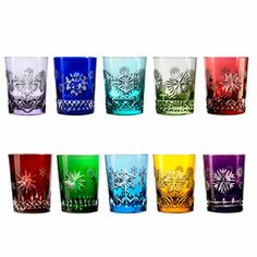 Waterford - Snowflake Wishes 2011-2020 Prestige Cased Double Old Fashioned's, Set of 10