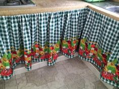 Handmade Home Decor, Handmade Crafts, Kitchen Curtains, Valance Curtains, India Home Decor, Garden Tool Storage, Curtain Designs, Colorful Curtains, Vintage Table