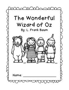 Wizard of Oz Differentiated Activities for First Grade