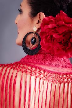 Crochet Earrings, Jewelry, Fashion, Dressing Rooms, Moda, Jewlery, Jewerly, Fashion Styles, Schmuck