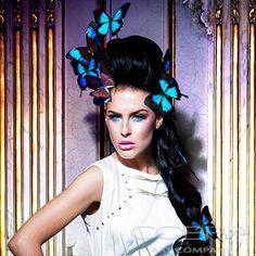 GRANDURE'S GAZE SQUARE Fashion & Faces Photography  Photographic art on plexiglass Cobra Art Company