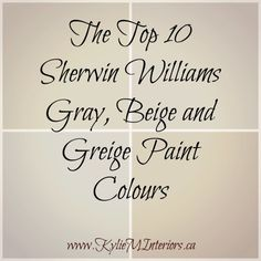 the best, top 10 sherwin williams gray, beige and greige paint colours for any room in your home