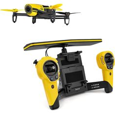 awesome Parrot BeBop Drone 14MP Full HD 1080p Fisheye Camera SkyController Bundle (Yello   Check more at http://harmonisproduction.com/parrot-bebop-drone-14mp-full-hd-1080p-fisheye-camera-skycontroller-bundle-yello/