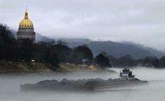 Charleston, West Virginia by Shirley Mullins