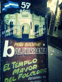 Peña boliche Balderrama #ArgentinaLP