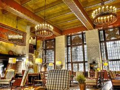 USA Today Best National Park Lodging for Winter Visitors: The Ahwahnee in Yosemite