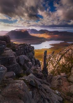 Stac Pollaidh, Scotland Needle in a Stac by Dylan Toh  & Marianne Lim on 500px