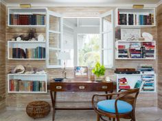"""AGAIN, with those cool """"open box"""" horizontal shelves so cool looking, I love it! everything LEB"""