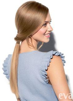 Aj tie najjemnejšie vlasy sa dajú upraviť do bombastického účesu.