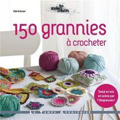 Granny Square foreign crochet book