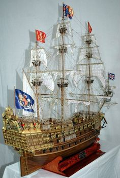 Sovereign of the Seas 1637 Modeller Gianluca De Agostini