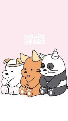 Cutest we bare bears baby We Bare Bears Wallpapers, Panda Wallpapers, Cute Cartoon Wallpapers, Ice Bear We Bare Bears, We Bear, Bear Wallpaper, Wallpaper App, Cute Disney Wallpaper, Kawaii Wallpaper