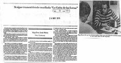 Hugo Blanco demandará a Radio Continente. Publicado el 24 de noviembre de 1978.