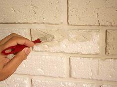 Como fazer parede de Tijolinho de Isopor