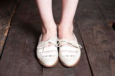 cute white shoes #style