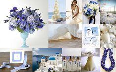Paleta de cores: tons de azul + branco - casamento na praia