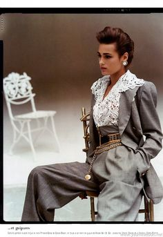 Tumblr 80s fashion | 80s # fashion-Loved this look then and I think it would work today!