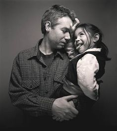 adam yauch and his daughter, tenzin losel, at the amnesty international spotlight awards for human rights on january 28, 2001 • RIP MCA