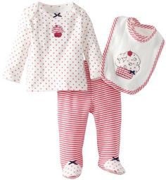 Little Me Baby-Girls Cupcake Lap Shoulder Set, Pink/Multi, Newborn Little Me,http://www.amazon.com/dp/B00B71CJC8/ref=cm_sw_r_pi_dp_fOQptb02934KZK7R