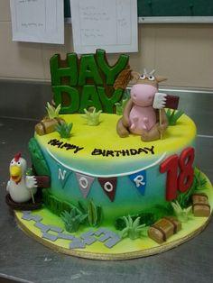 Hay day cake