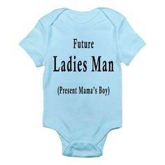 Funny Baby Onesie - Funny Baby Boy Onesie- Future Ladies Man