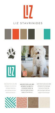 Liz Stavrinides Pet Photographer Logo, Branding and Identity Design