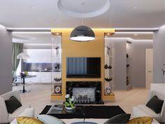 Вся та же стена витрина, где образовалось место для телевизора и искусственного камина со свечами. Учитывая, что квартира всего 80м2, необходимо было создать максимально просторный интерьер и наполнить яркими акцентами.  #гостиная_iD #interideg #interiordesign #designstudio#houseidea #homedecor #interiordecor#homedesign #интерьер #интерьеры #дизайнинтерьера #дизайн_интерьера #дизайнинтерьеров #дизайнеринтерьера #дизайн #архитектура #интерьеры #ремонт #дизайнпроект #дизайнквартиры ...