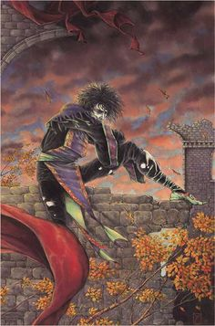 SANDMAN: MORPHEUS by Michael Zulli. I have this as a poster too!