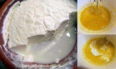 Κέικ γιαουρτιού 1-2-3-4 - cretangastronomy.gr Glass Of Milk, Pudding, Desserts, Food, Tailgate Desserts, Deserts, Custard Pudding, Essen, Puddings