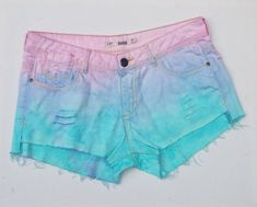 Pastel Goth Denim Shorts ALL Sizes Available Ripped Pastel Blue & Pale Pink Jean Shorts Hotpants Short Shorts – Decor Style 2019 Ripped Jean Shorts, Blue Jean Shorts, Distressed Denim Shorts, Blue Denim, Hot Pink Pants, Pink Jeans, Hot Pants, Pastel Grunge, Pastel Blue
