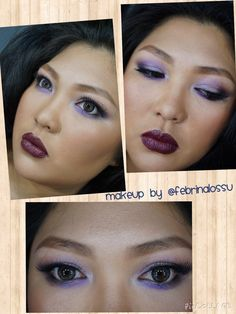 Idea for Fall makeup.                                Victoria secret runway beauty kit pallete.    @nyxcosmetics : HD Foundation