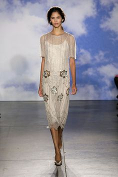 Jenny Packham - The Best Runway Looks From Bridal Fashion Week Spring 2015 - Photos