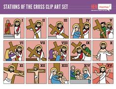 abstract people and cross stations of the cross pinterest rh pinterest com All the Stations of Cross Living Stations of the Cross