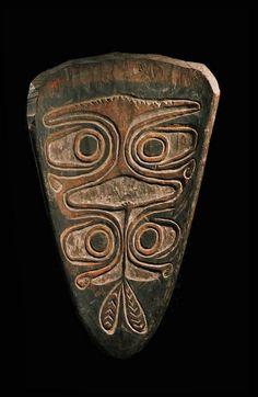 Gope board, Papuan Gulf, Papua New Guinea   Art Océanien - Galerie Franck Marcelin