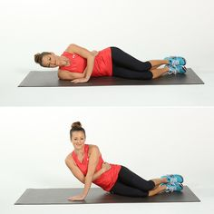 Target and Tone Triceps: Side-Arm Push-Ups