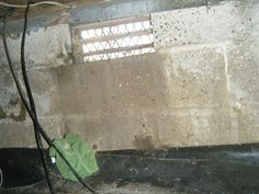 In this picture, you can see where water has been regularly pouring in through a crawlspace window vent.  This sort of intrusion can happen during a rainstorm, or even when you turn on your sprinklers.  This sort of water intrusion introduces even more moisture into an already wet crawlspace environment.