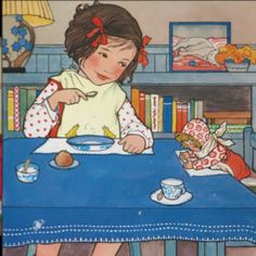 Rie Cramer.  Just captures the innocence & sweetness of childhood.