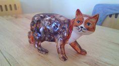 Pottery Manx Cat Figure(Made by Rushton).   eBay
