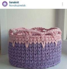#cestoorganizador #cesto #crochet #croche #fiodemalha #artesanato #decor #decoracao #handmade