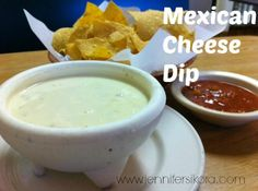 Mexican Cheese Dip -- Yes. That cheese. You can thank me later. It is SO good..