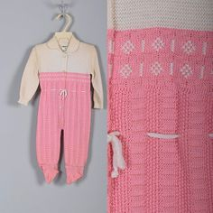 NOS Deadstock Childrens Vintage 60s Baby Girls Pink by Whirliss, $40.00
