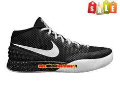 Nike Kyrie 1 iD - Chaussure de Basket-ball Pas Cher Pour Homme Noir Blanc 03d108b15052