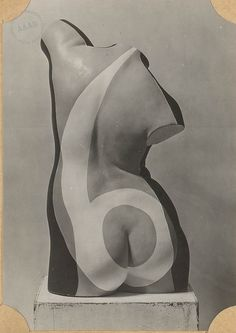 Max Ernst sculpture. Andre Breton photo