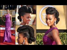 Teyonah Parris' Natural Hair Updo by Felicia Leatherwood: Get The Look